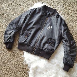 Jackets & Blazers - Poshmark Graphic Print Black Bomber Jacket